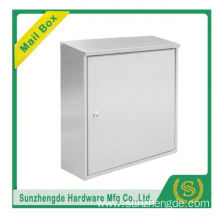 SMB-009SS Decorative Stainless Steel Waterproof Horizontal Mailbox